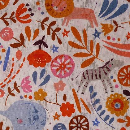 Fabric :: Meadow Safari :: All The Animals