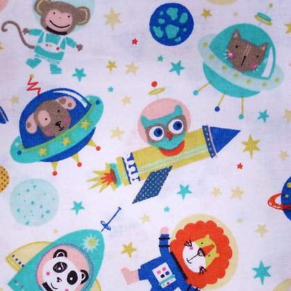 Fabric :: Wide :: In Space Blue