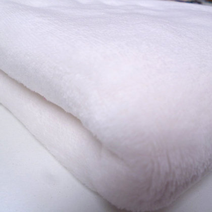 Cuddle Soft Fur Fabric :: Ivory