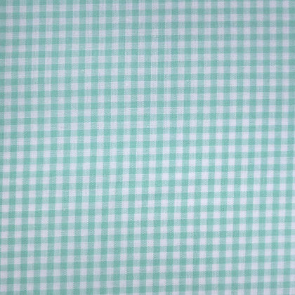 Fabric :: Wide Gingham :: Pale Mint