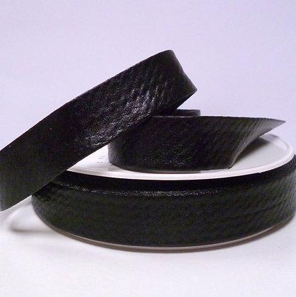 Metallic Bias Binding :: Black