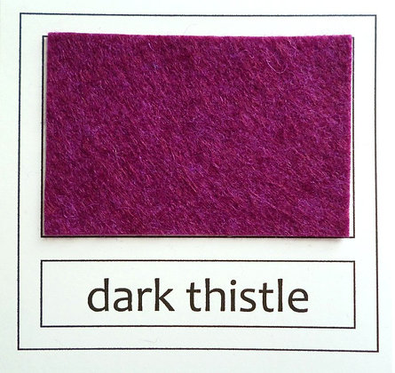 "Die Cut Pack :: 1"" circles :: Dark Thistle"