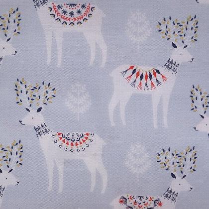 Fabric :: Skogen :: Grey Reindeer