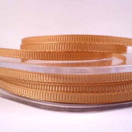 3mm Mini Grosgrain Ribbon (5 metres) :: Gold