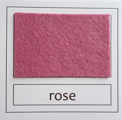 """Die Cut Pack :: 1"""" circles :: Rose"""