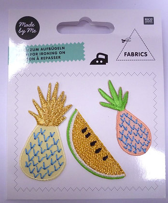 Pack of Embroidered Motifs :: Pineapples