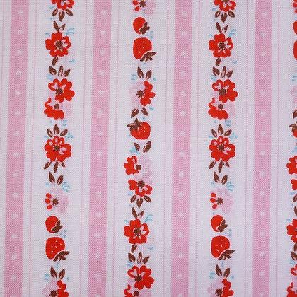Fabric :: Milk,Sugar & Flowers :: StrawberryStripe
