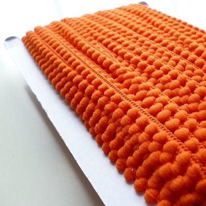 Teeny Tiny Pom Pom Trim (card)  :: Burnt Orange