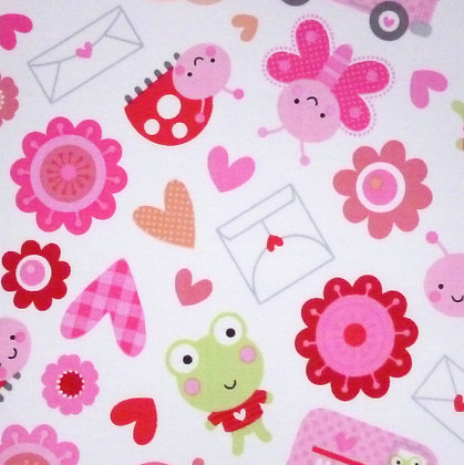 Fabric :: Love Bug :: Letters