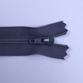 "4"" Zips :: Dark Grey"