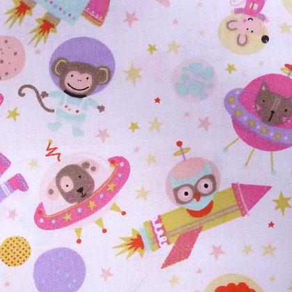 Fabric :: Wide :: In Space Pink