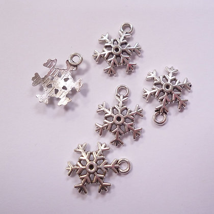 Sew On Charms :: Snowflakes pack of 5