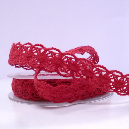 Folk Lace :: Rust Red
