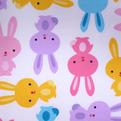 Fabric :: Zoologie :: Spring Bunnies