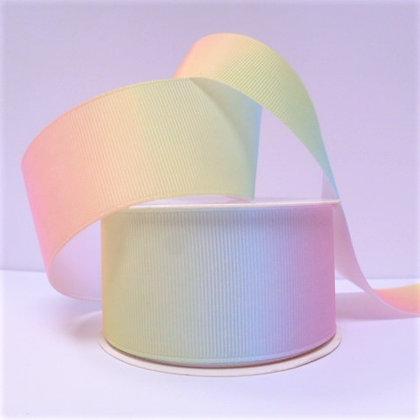 Wide Rainbow Ribbon Spools :: Pastel Colours