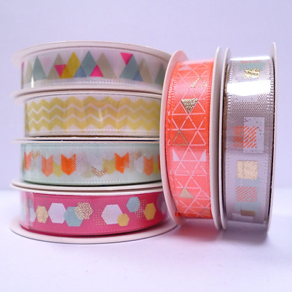 SALE :: Geometric Ribbon Gift Pack :: Neon