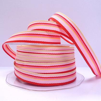 """1/2"""" Stripe Ribbon :: Pink"""