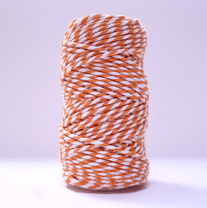Baker's Twine Candy Stripe 20m :: Orange