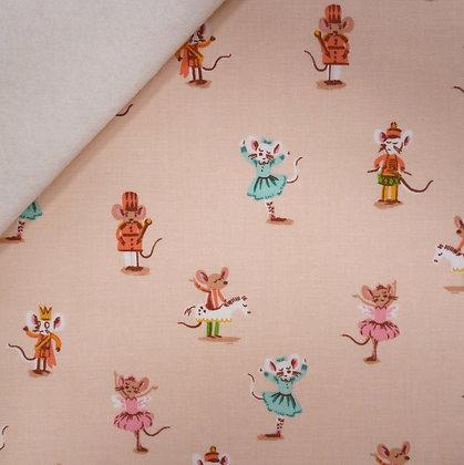 Fabric Felt :: Sugarplum :: Ballet Dancers on Natural