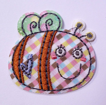 Embroidered Motif :: Patchwork :: Bee