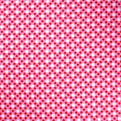 Fabric :: Dim Dots :: Pink