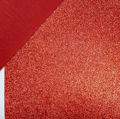 Glitter Felt :: Red