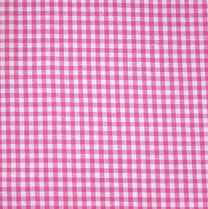 Fabric :: Wide Gingham :: Bright Pink