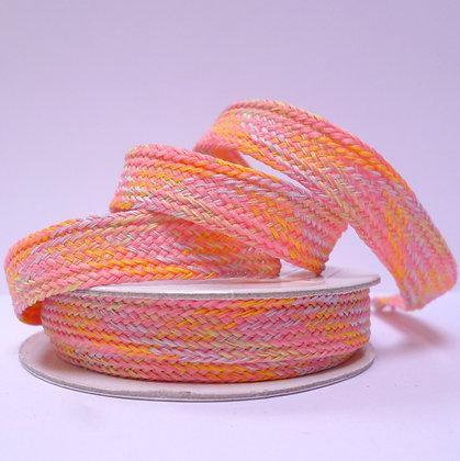 Metallic & Pastel Spool :: Woven :: Tropical Pink