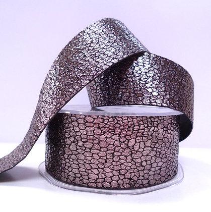 38mm Snake Skin effect ribbon :: Bronze
