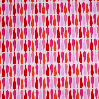 Fabric :: Vintage Kitchen :: Pink Drops