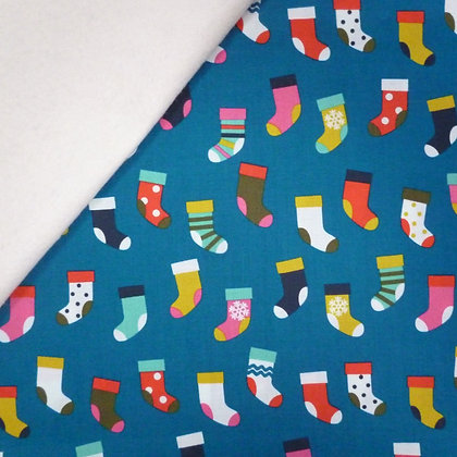 Fabric Felt :: Merry and Bright :: Stockings on Natural LAST FEW