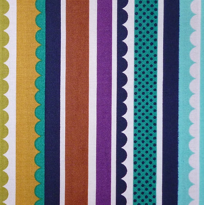 Fabric :: Foxwood :: Carnival Stripe