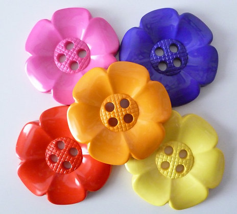 Ginormous Flower Button :: 83mm