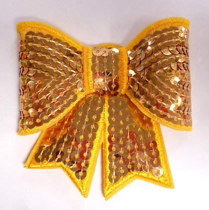 Sparkle Bow :: Large :: Yellow Gold