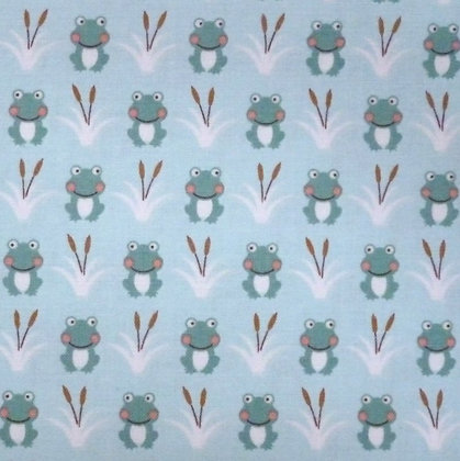 Fabric :: Camp-A-Long Critters :: Mini Frogs