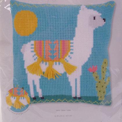 Printed Canvas Cushion Kit :: Llama