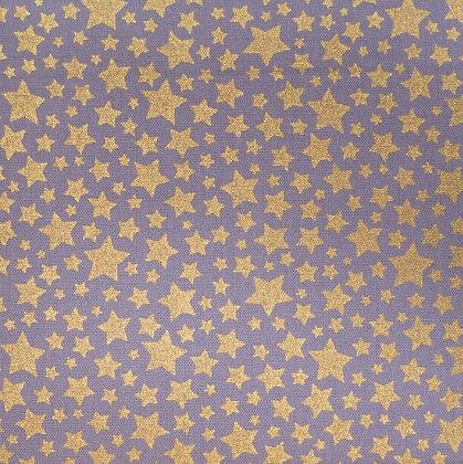 Fabric :: Starbrite Mini Stars :: Pewter & Stars