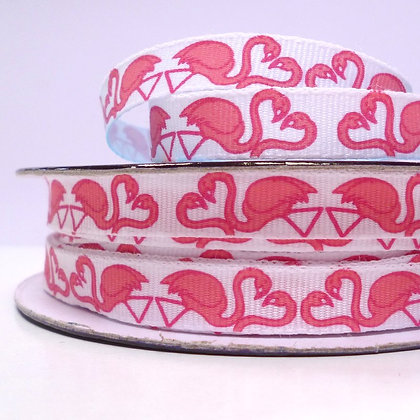 Tropical Ribbon :: Flamingo Love