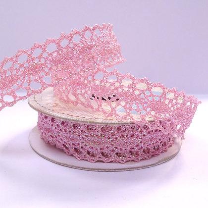 Pastel Spools 2 :: Metallic Lace :: Pink