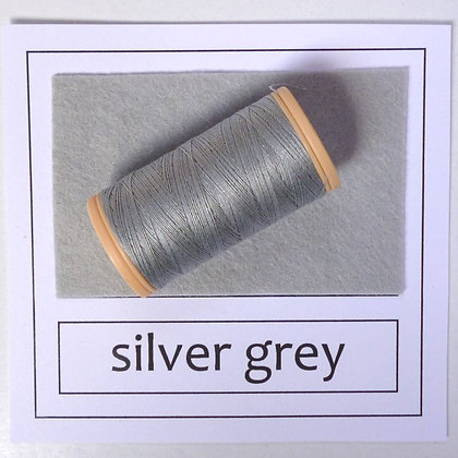 Sewing Thread :: Silver Grey