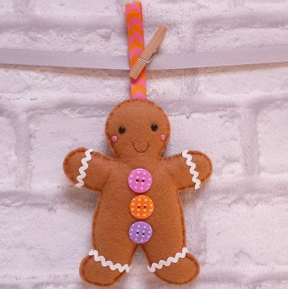 Handmade :: Gingerbread :: Mr. Polka Dot
