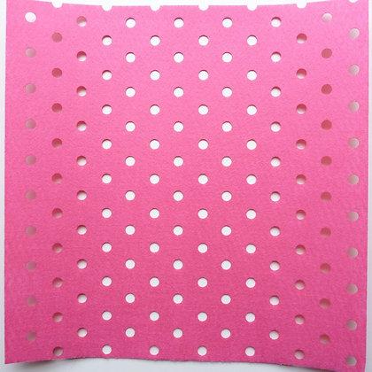 Holey Holes Felt :: Bright Pink