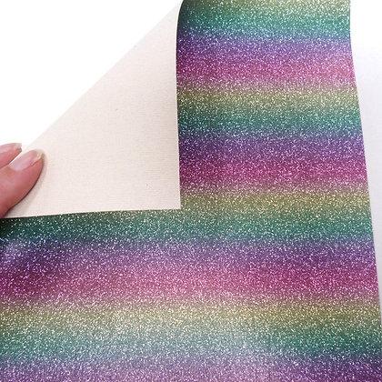 Rainbow Stripe Vinyl :: Pastel