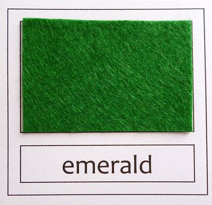 "Die Cut Pack :: 1"" circles :: Emerald"