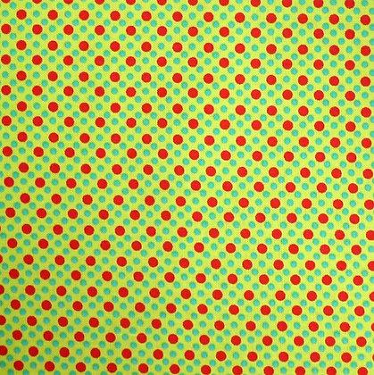 Fabric :: Dim Dots :: Santa