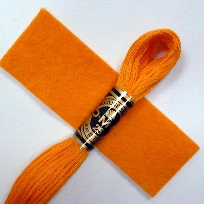 DMC Embroidery Thread :: Orange (741)
