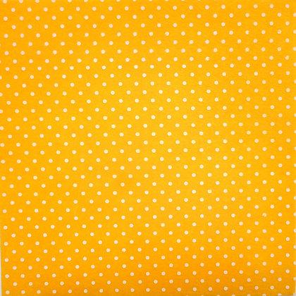 Bigger Polka Dots Felt Square :: YELLOW