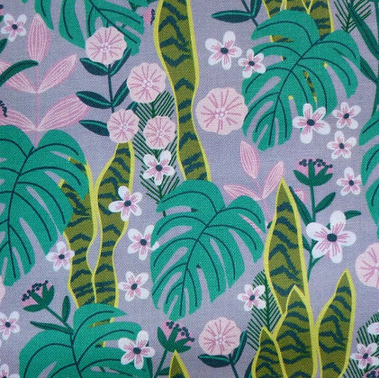 Fabric :: Junglemania :: Sansevieria