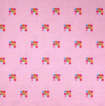 Fabric :: Simply Happy :: Hexagon Squares