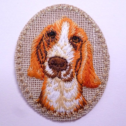 Embroidered Motif :: Dog
